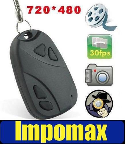 mini camara espia 720 * 480 llavero carro video audio @ 16gb