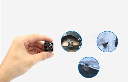 mini camara espia de bolsillo llavero 1080p vision nocturna