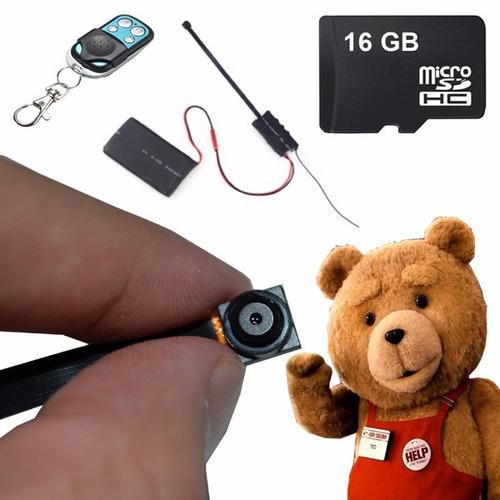 mini cámara espía dvr bateria 24 hrs sony full hd 1080p 16gb