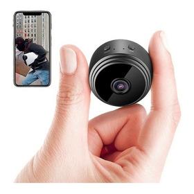 Mini Cámara Espía Hd 1080 Wifi 150 Grados Imán Batería Smart