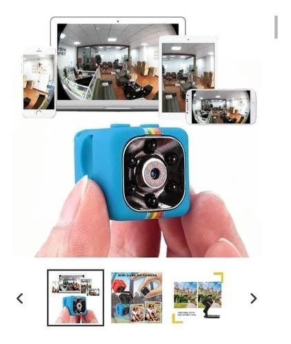 mini camara espia oculta sq11 1080p full hd 12mp con soporte
