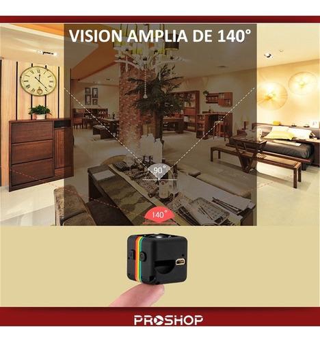 mini camara espia oculta sq11 - 1080p full hd 12mp modelo nuevo