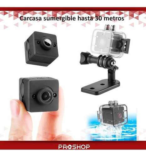mini camara espia oculta sq12 1080p full hd fotos 12mp modelo nuevo