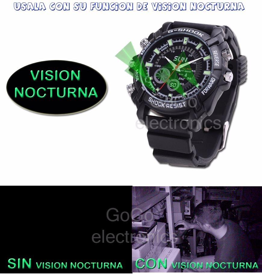 a6803ea71e1e mini camara espia reloj infrarojo vision nocturna 12 mp sony. Cargando zoom.