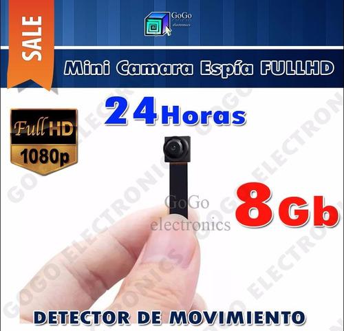 mini camara espia s01 fullhd detector movimiento max 64gb !!
