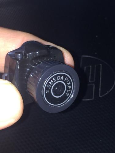 mini cámara espía seguridad con ranura micro sd