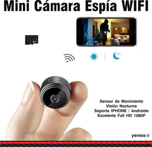 mini camara espia wifi hd(iphone- android)en vivo smartphone