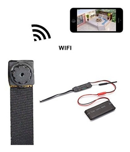 mini camara espia wifi ip hd audio video microfono sensor