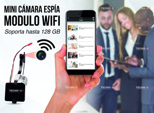 mini camara espia wifi oculta flexor full hd 128 gb 115 hrs