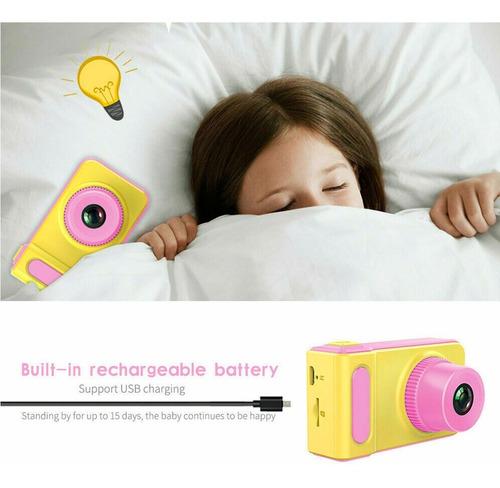 mini cámara fotográfica digital para niños 1080 hd