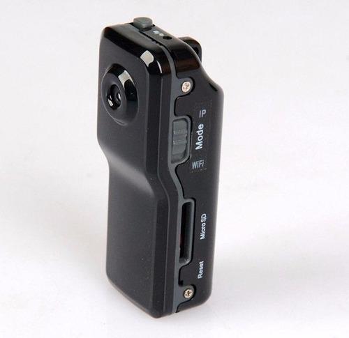 mini camara ip espia 640*480 recargable wifi micro sd