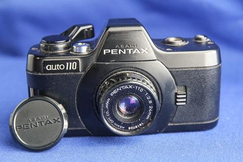 mini cámara japonesa pentax auto 110 para colección