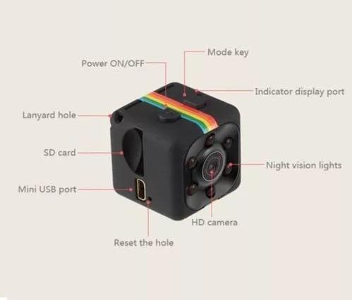 mini cámara oculta espía visión nocturna full hd, sensor.mov