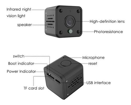 mini camara wifi recargable