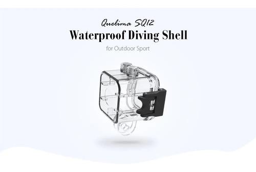 mini camera espia sq12 + caixa case estanque prova d agua