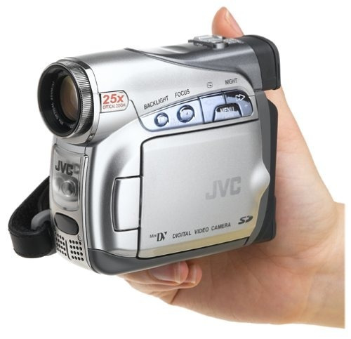 mini camera jvc gr-d290 mini dv digital clear lcd