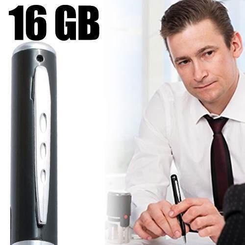 mini camera para espionagem canetas com cameras espias 16gb
