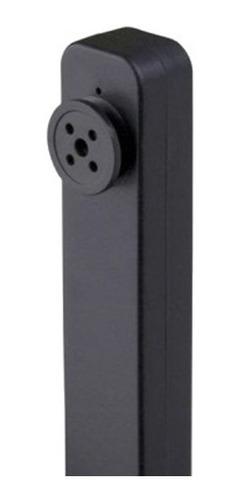 mini camera pinhole botão espião 8gb gravador de voz e video