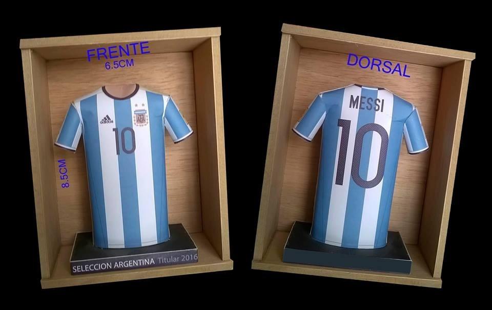 Mini Camisetas Futbol 3d !!! Elegi Tu Modelo -   249 815e0f577596c