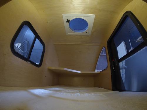 mini camper, teardroop (modelo picunche)