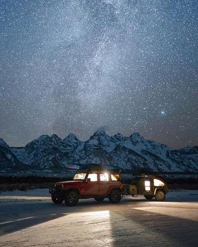 mini camper (teardroop) nomad