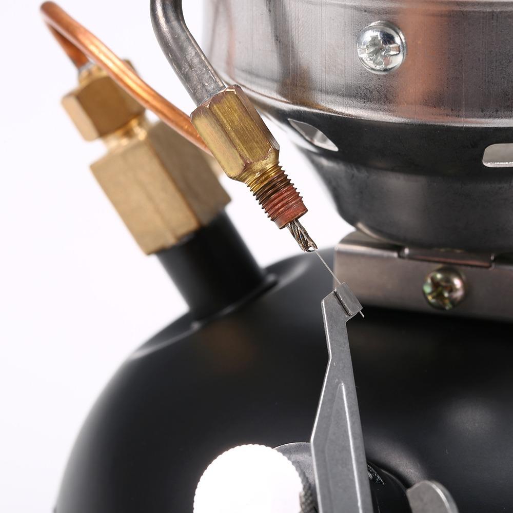 Lejie Estufa de Cocina de Combustible m/últiple integrada para Quemador de Combustible Ligero Mini Quemador Diesel Queroseno BRS-12A