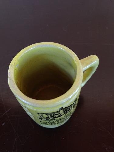 mini caneca livorno amarela (0464)