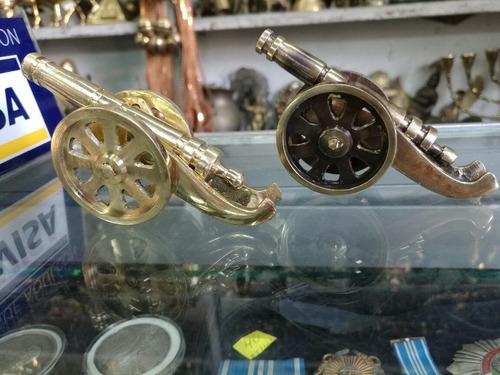 mini cañoncito en bronce