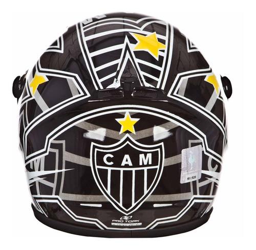mini capacete decorativo atlético mineiro cap-245 pro tork
