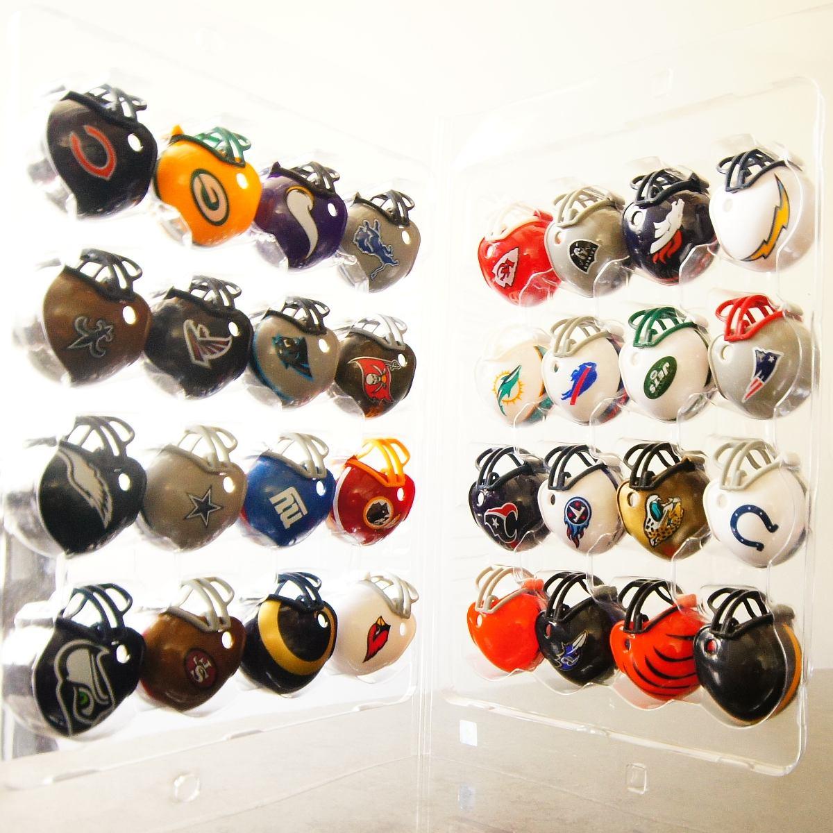 mini capacete futebol americano nfl - coleção completa. Carregando zoom. bcd14f47c88ff