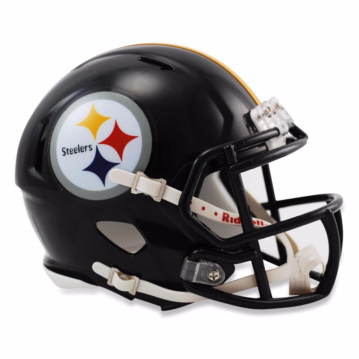Mini Capacete Futebol Americano Nfl - Pittsburgh Steelers - R  280 ... 2ca66901f6dee