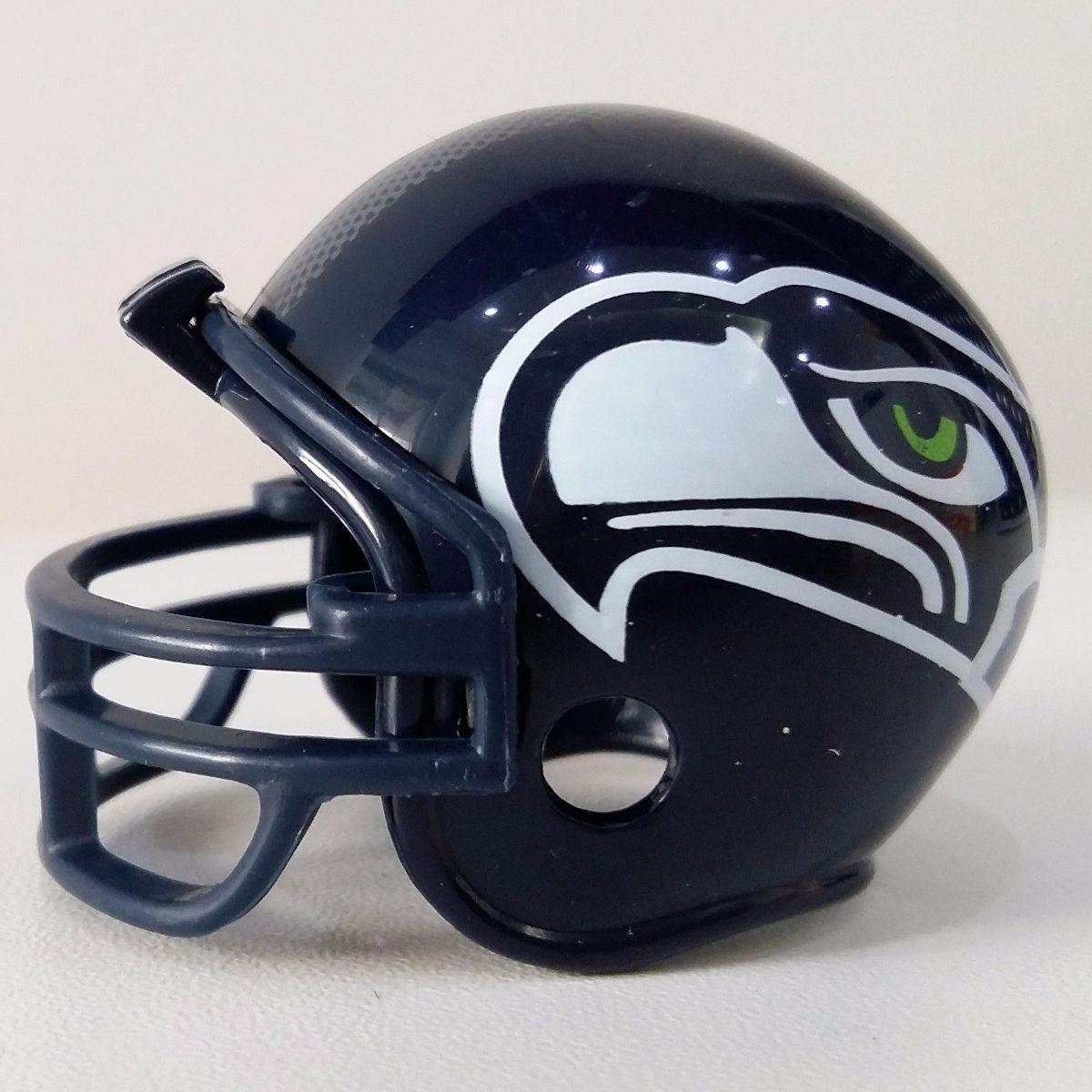 597f86250 mini capacete futebol americano nfl - seattle seahawks 5cm. Carregando zoom.