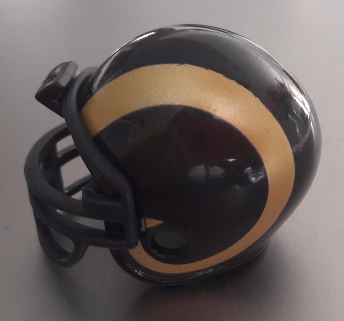 mini capacete nfl - los angeles rams helmet. Carregando zoom. 9564a3060be5b