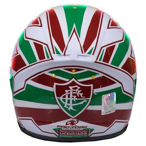mini capacete pro tork fluminense