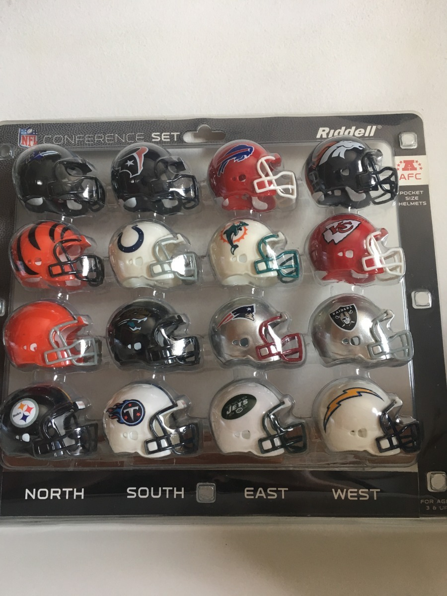mini capacetes de todos os times de futebol americano da nfl. Carregando  zoom. 05683b67ba195