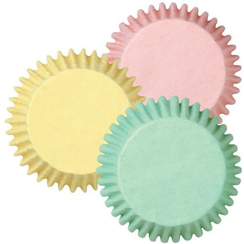 mini capacillos wilton cupcakes pastelería colores pastel