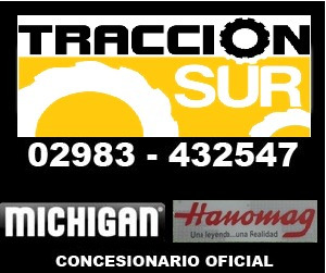 mini cargadora michigan nueva 60hp / 0.40 mts3 conc. oficial