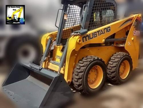 mini cargadora mustang 1500r nueva en oferta