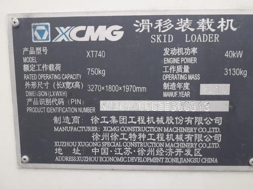 mini cargadora usada xcmg