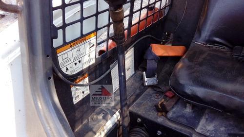 mini carregadeira bobcat s750 - ano 2012 - poucas horas