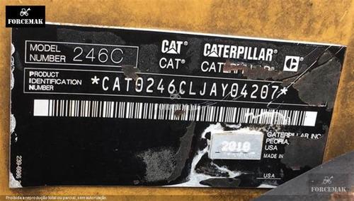 mini-carregadeira caterpillar 246c