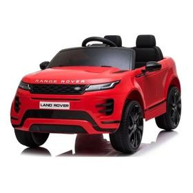Mini Carrinho Elétrico Infantil - 12v - Range Rover Vermelha