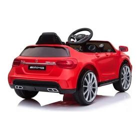 Mini Carrinho Elétrico Infantil-12v -mercedes Gla45 Vermelha