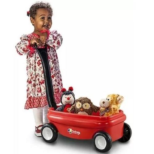 mini carrito carro americano wagon arrastre rotoys 1a5 años