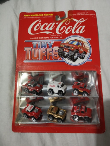 mini carritos coca cola