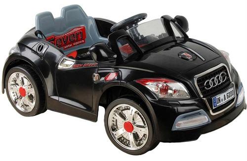 mini carro audi preto com controle remoto 6v  - bel fix 9248