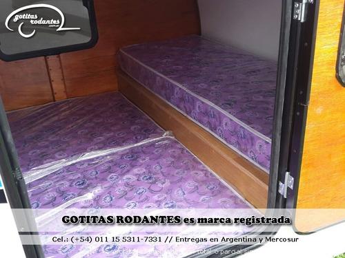 mini casa gotita rodante gr family 4p