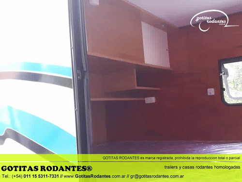 mini casa gotita rodante gr family 4p homologada lcm