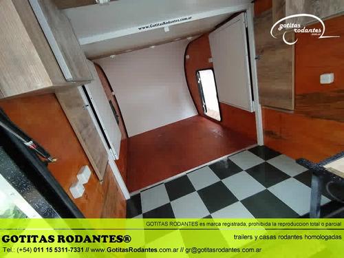 mini casa gotita rodante gr scout 4p trailer homologada lcm