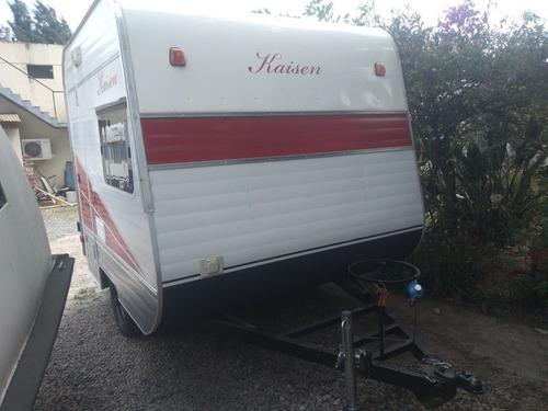mini casa rodante kaisen para 2 personas nueva a estrenar